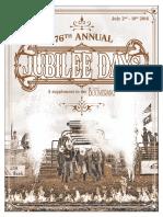 Jubilee Days 2016