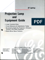 GE Photographic Lamp Guide 1990