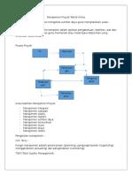 Manajemen Proyek Teknik Kimia