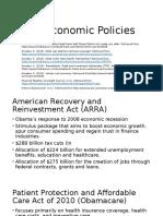 US Economic Policies