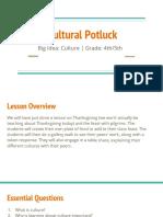cultural potluck