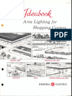 GE Lighting Systems Ideabook Shopping Centers 1962