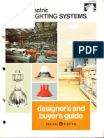 GE Lighting Systems Indoor Lighting Designers Guide 1970