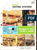 GE Lighting Systems Indoor Lighting Designers Guide 1974
