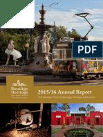 Bendigo Heritage Attractions - Annual Report - 2015-16