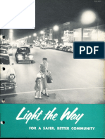 GE Lighting Systems Light the Way Streetlighting Brochure 1953