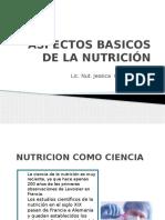 Aspectos Básicos de La Nutrición.