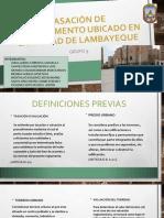 Tasacion Depa Lambayeque