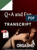 6 - Q & a Transcript