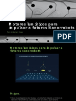 Motores Lumínicos Para Impulsar a Futuros Nanorrobots
