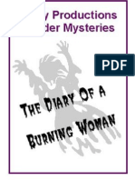 00072  Adult Murder Mystery Game - Diary Of A Burning Woman