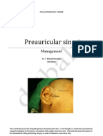 Preauricular sinus and its managment