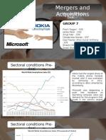 Group 7 Microsoft Nokia