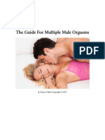 The Guide for Multiple Male Orgasms
