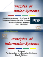 Chapter 1 an Introduction to Information Systems in Organizations