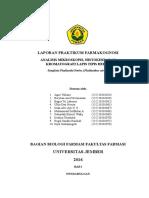 Laporan Praktikum Phyllanthi Herba KLT Dan Histokim