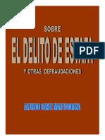 EL DELITO de ESTAFA - Alfredo Canez Marticorena