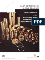 Cast Copper Alloy Sleeve Bearings