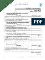 Informe Evaluacion Final 1o ESO