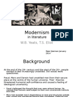 modernismyeatseliot-140109092822-phpapp02.ppt