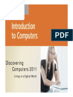 Chapter 01 Intro to Computers