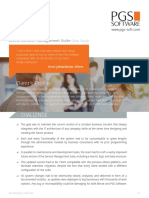 Efecte Service Management Suite Case Study By PGS Software Ltd