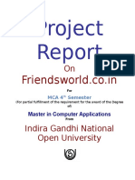Frindsworld.co.in - A project Report.doc
