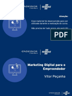 Marketing Digital para o Novo Empreendedor