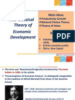 NeoClassical Growth Theory PPTs 4th Chapter