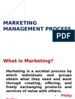 Marketing Management Process20