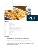 Baked Pasta With Cauliflower and Broccoli