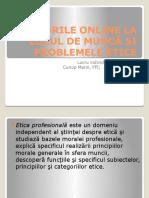 Jocurile Online La Locul de Muncă Și Problemele Etice