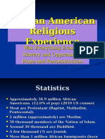 African American Religious Experience.ppt