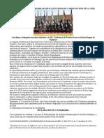 Declaración de Cochabamba Ratifica Necesidad de Cambio de Sede de La Cidh