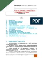 PMAR.lineas Generales PMAR.teresa.oct2016