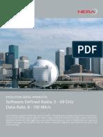 Datasheet Nera Networks Evolution Xpand