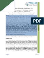 4. Jasr - Effect of Slope, Management and Depth on Soil