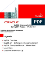 MySQL Enterprise Edition Spring2010release whatsnew final 7e9f1286b8250
