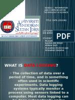 Data Logging