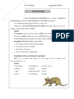 Grammar Unit9 Preposition