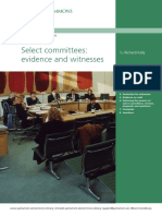 Select Committees Evidence and Witnesses sn 06208