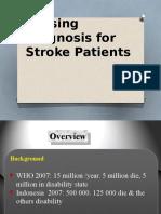 Nursing Diagnosis for Stroke Patients