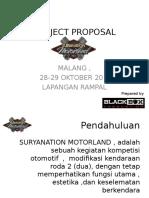 Project Proposal u Perijinan