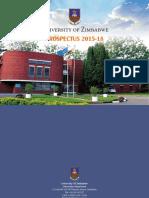 UZ Prospectus 2015 to 2018