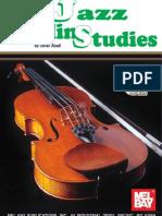 Jazz Violin Studes