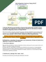 Estructura Del Sistema de Gestión de Seguridad y Salud en El Trabajo SG