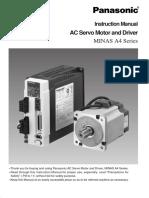 Panasonic AC servo_driver MINAS A4 series.pdf