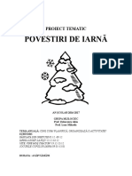 3 Proiect Tematic Iarna