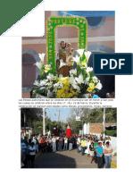 Las fiestas patronales que se celebran en el municipio son en honor a San José.docx