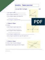 Fichas Informativas e Exercícios Matemática